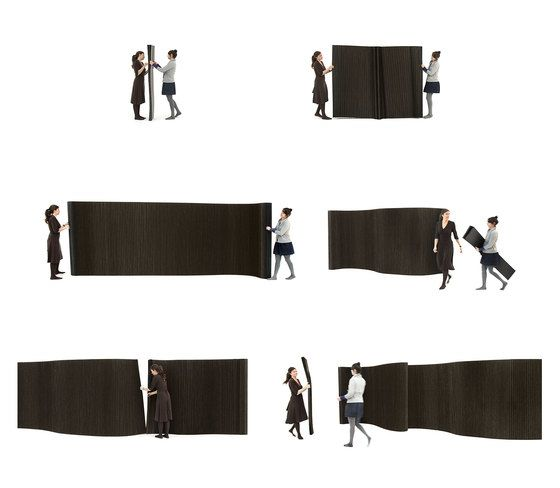 softwall | black paper by molo by molo