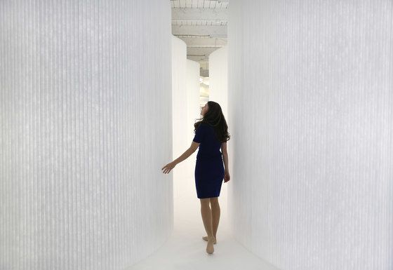 softwall | white textile by molo by molo