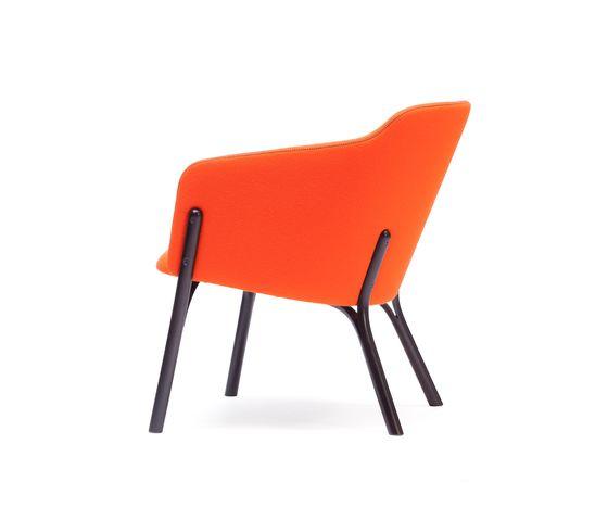 Split Lounge armchair by TON by TON