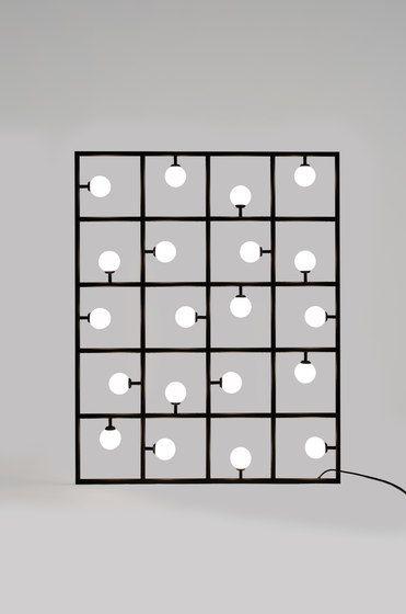 Squares Floor / Wall lamp by Atelier Areti by Atelier Areti