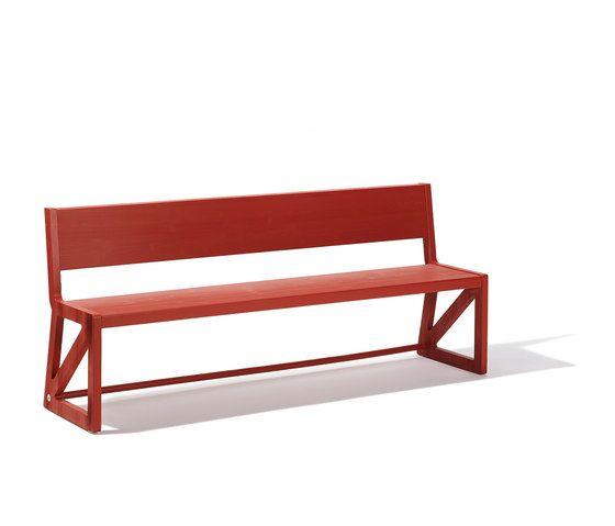 Stijl bench by Lampert by Lampert