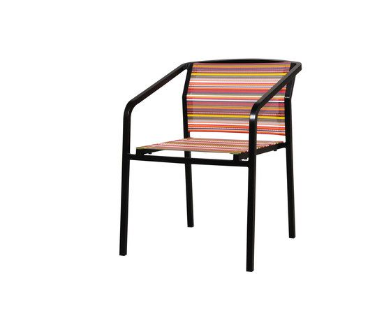 Stripe bistro chair by Mamagreen by Mamagreen
