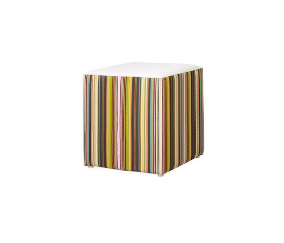 Stripe stool vertical by Mamagreen by Mamagreen