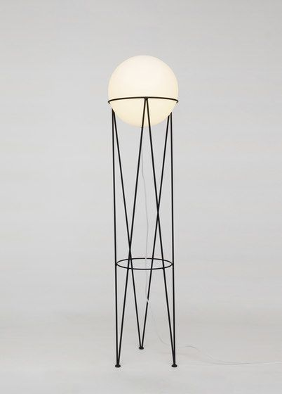 Structure and Globe Floor Light by Atelier Areti by Atelier Areti