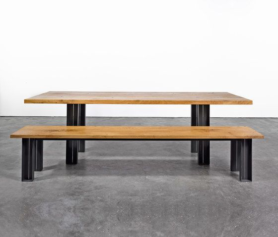 Table and Bench at_12 by Silvio Rohrmoser by Silvio Rohrmoser