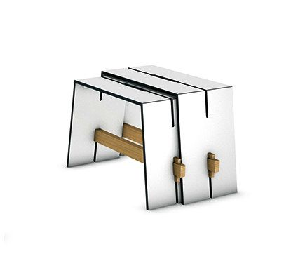 Tension side table by Conmoto by Conmoto