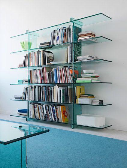 Teso Bookcase by FontanaArte by FontanaArte