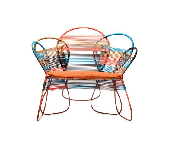 Trame Easy Armchair by Kenneth Cobonpue by Kenneth Cobonpue