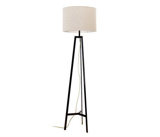 Tripod Lamp Black by Farrah Sit by Farrah Sit