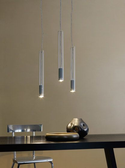 Tubo LED Suspension lamp by FontanaArte by FontanaArte