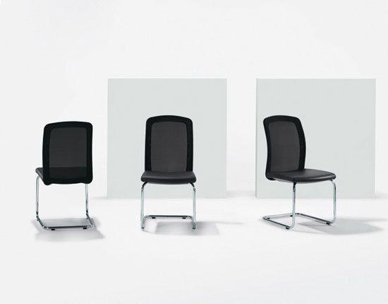 TWIST Cantilever chair by Girsberger by Girsberger