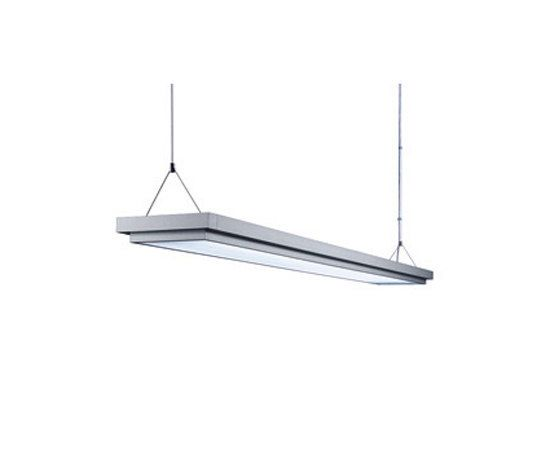 TYCOON Suspended Luminaire DYP 428/2 by H. Waldmann by H. Waldmann