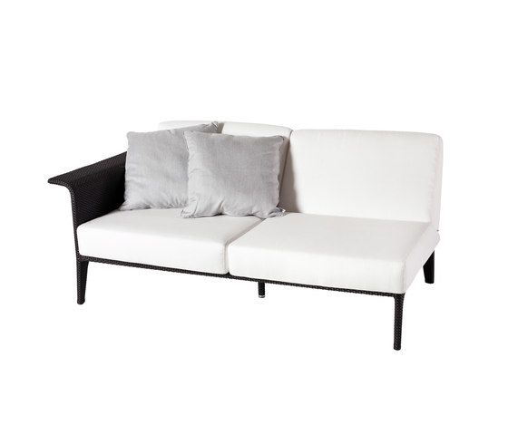 U Module sofa 2 right arm by Point by Point
