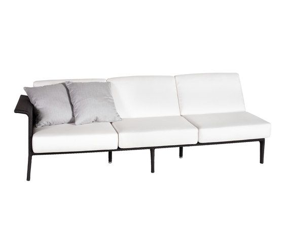 U Module sofa 3 right arm by Point by Point