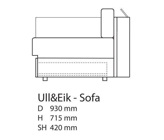 Ull & Eik Sofa by Thorsønn by Thorsønn