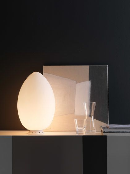 Uovo Table lamp by FontanaArte by FontanaArte