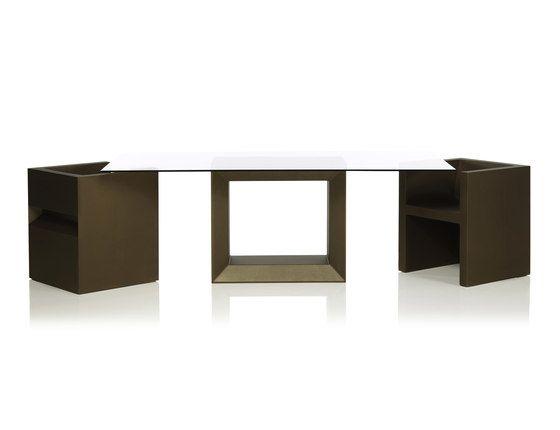 Vela Dining Table by Vondom