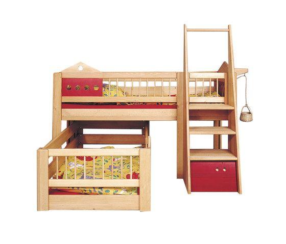 Villa small children's bunk bed DBA-201.2 by De Breuyn by De Breuyn