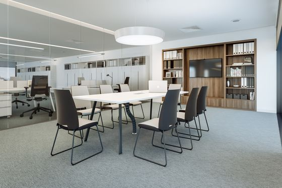 Vu Conference table by Ergolain by Ergolain