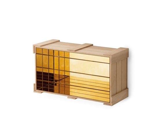 Wall Crate 26. by Antique Mirror by Antique Mirror