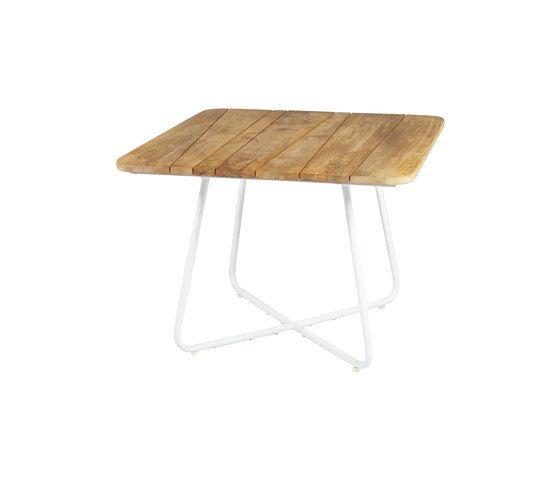Zudu dining table 100x100 cm by Mamagreen by Mamagreen