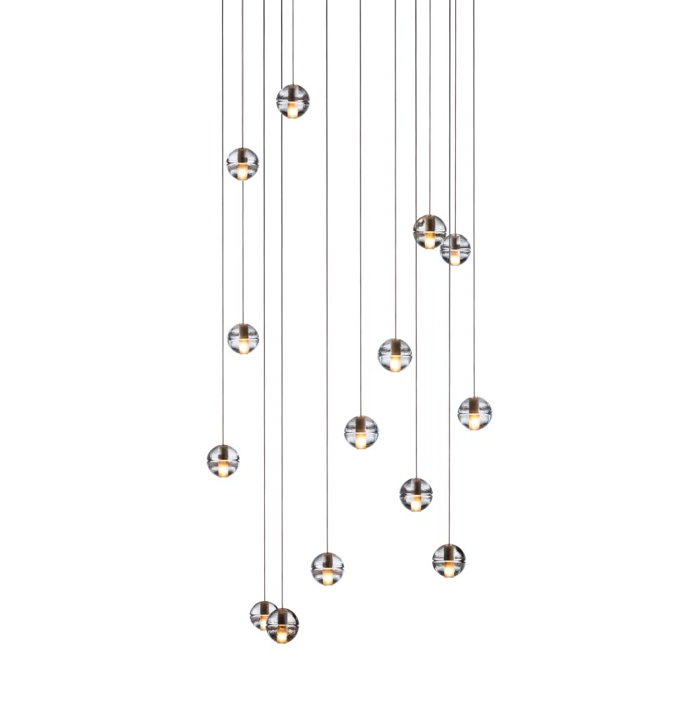 14.14 Rectangular Pendant Chandelier by Bocci