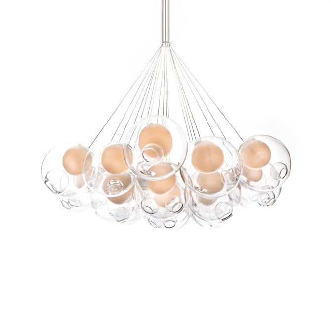 28.19 Cluster of 19 Pendants by Bocci