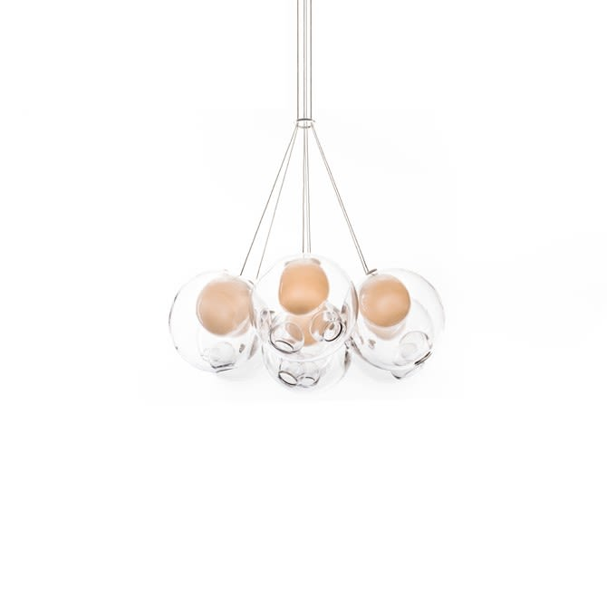 28.7 Cluster of 7 Pendants by Bocci