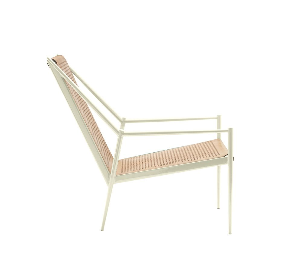 Acciaio Lounge Small Armchair by Cappellini