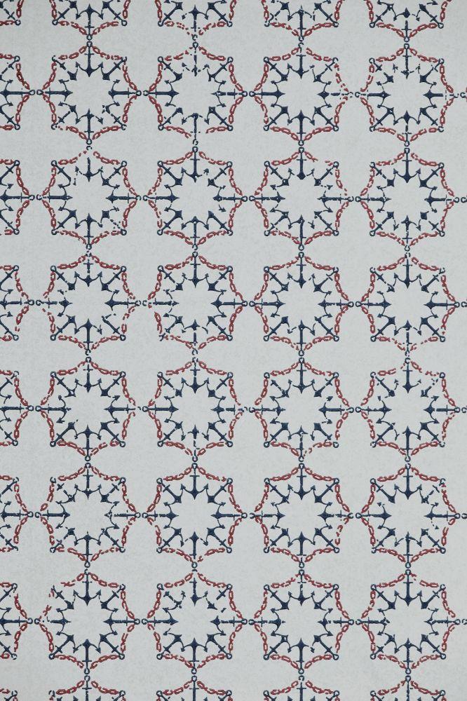 Anchor Tile Wallpaper  by Barneby Gates
