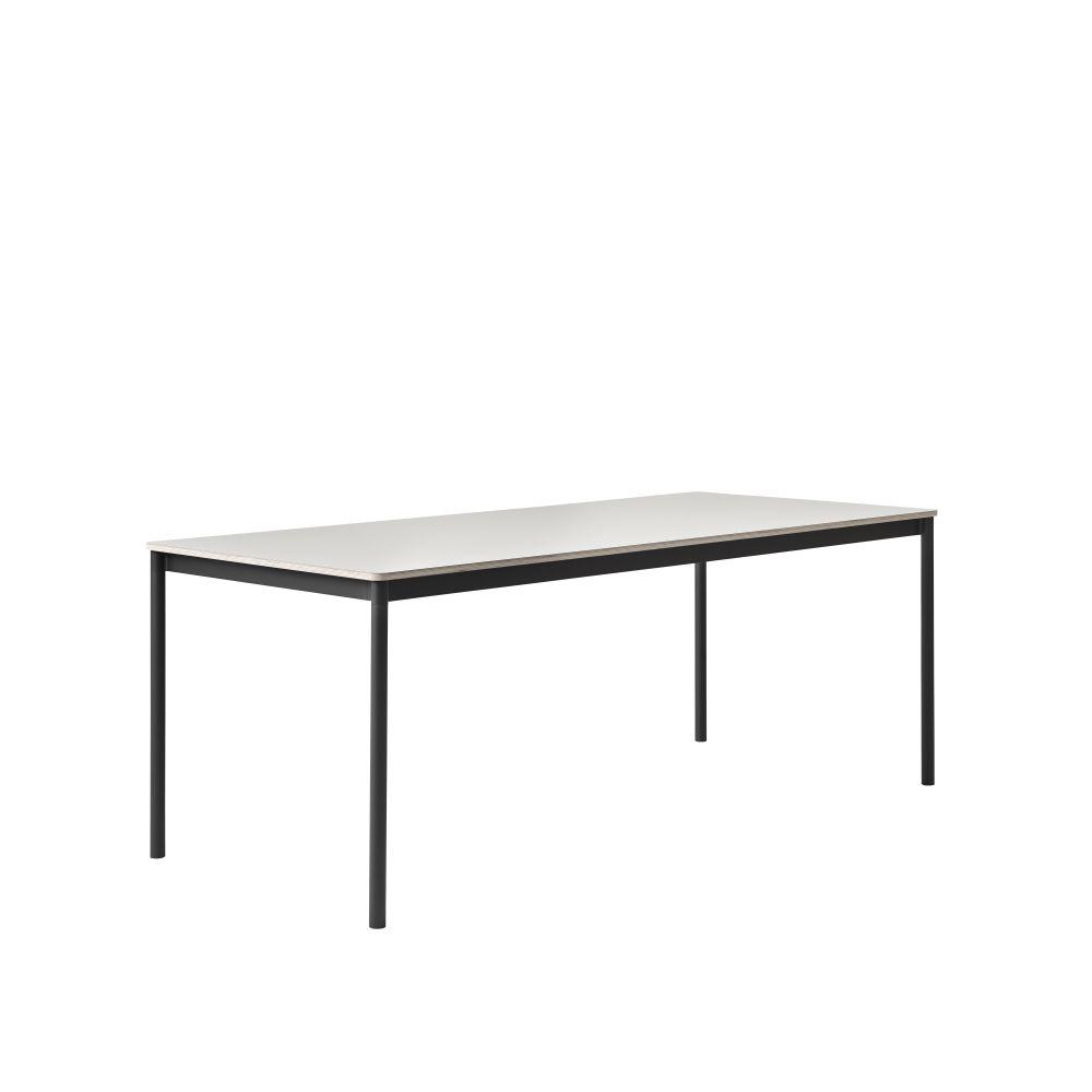 Base 190x85 Rectangular Table by Muuto