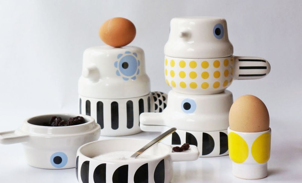 Bird Pot by Camilla Engdahl