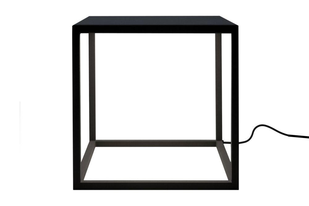 BlancoWhite C1 Square Table Lamp by Santa & Cole