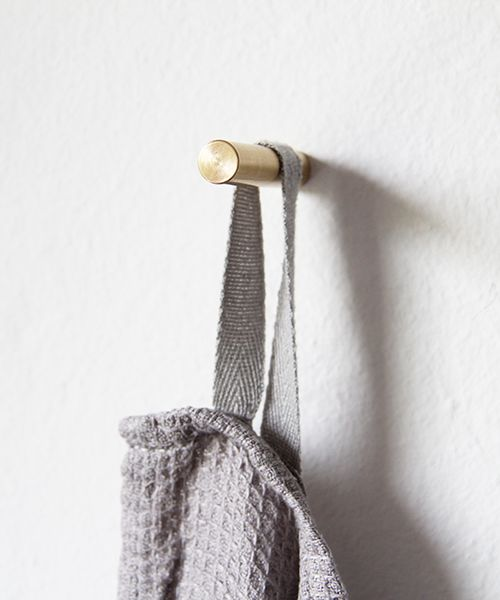 Brass Wall Hook by Golden Biscotti