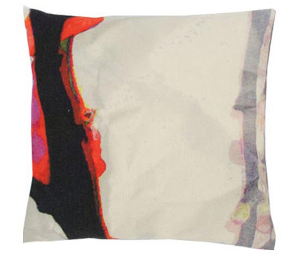 Bright Branch Square Cushion by Suzanne Goodwin