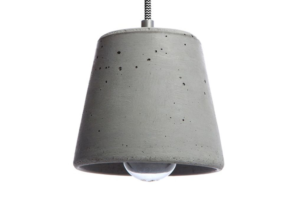 Calix 14 Concrete Pendant Light by URBI ET ORBI