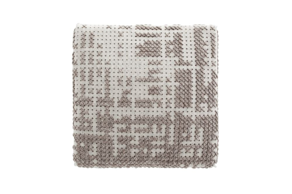Canevas Square Abstract Ottoman by GAN
