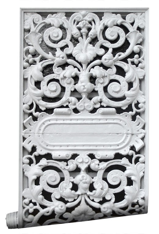 Cast Iron Wallpaper by Mineheart
