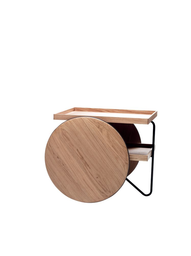 Chariot Mobile Table by Casamania