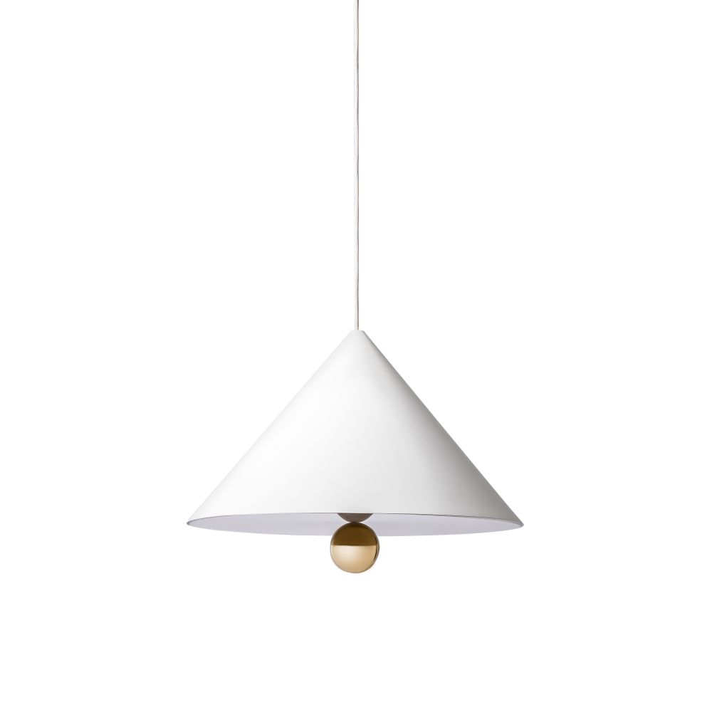 Cherry Wide Pendant Light by Petite Friture