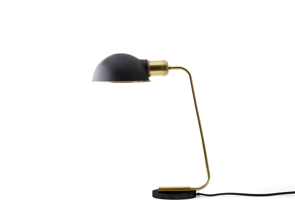 Collister Tribeca Table Lamp Mirror Polished Brass By Menu Clippings