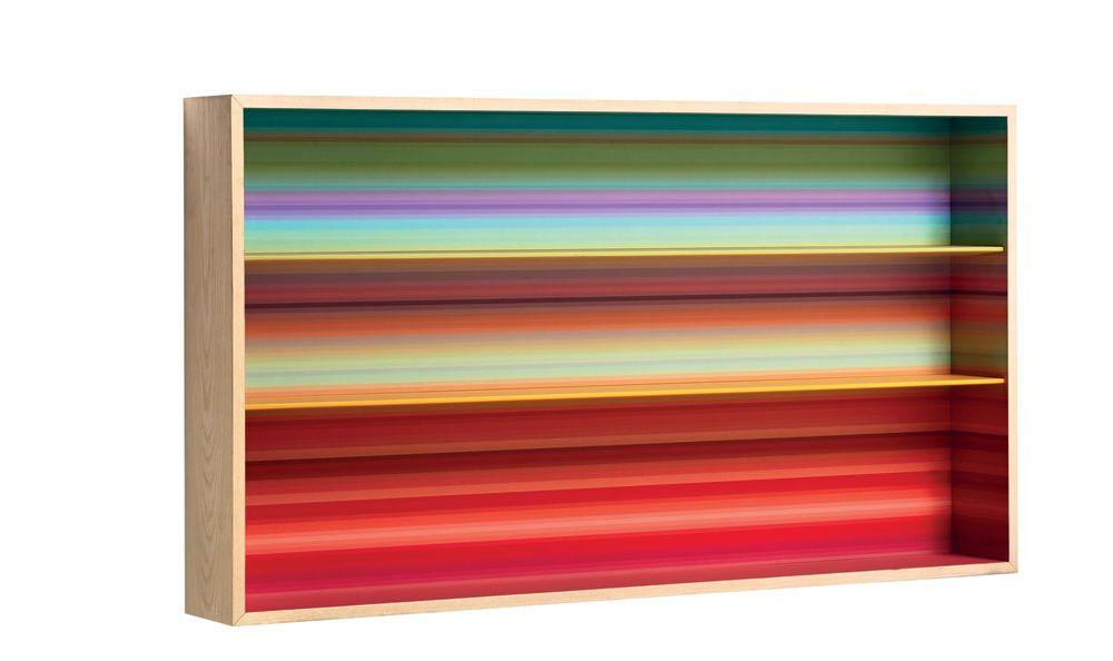 Color Fall Wall Bookshelf by Casamania