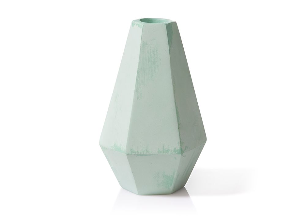 Concrete Candle Holder by MOXON London