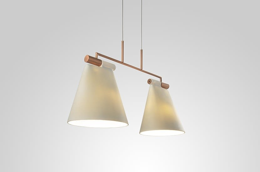 Cone Suspension Light 2 by B.LUX