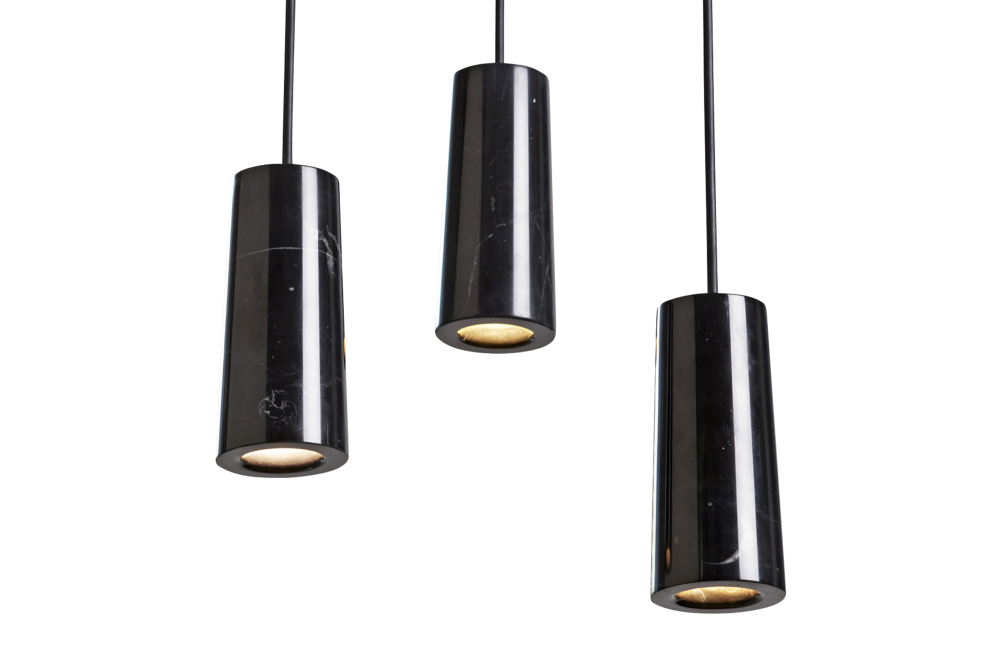 Core Three Pendant Cluster by Terence Woodgate