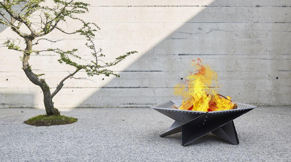 Cross Tân - Outdoor fire pit by Jam Furniture