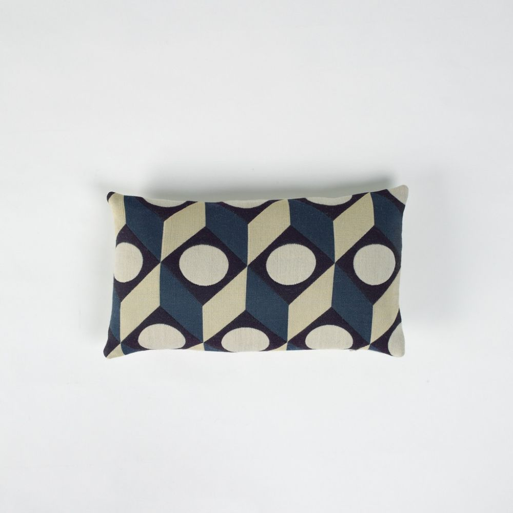 Cubes Rectangular Cushion by Another Country