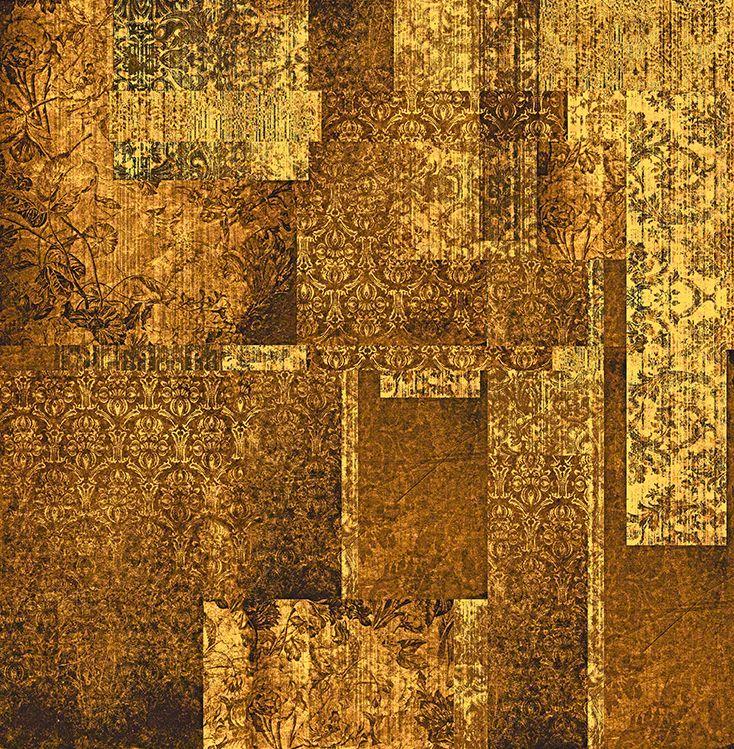 Culcita Amber Wallpaper by Blackpop