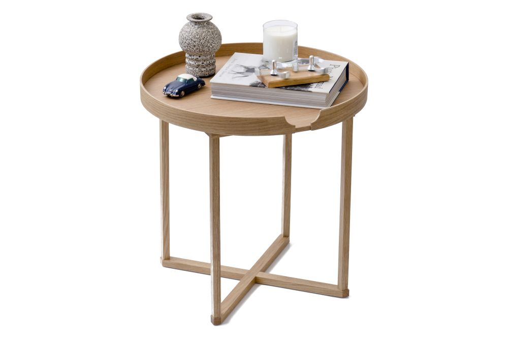 Damien Round Side Table by Wireworks