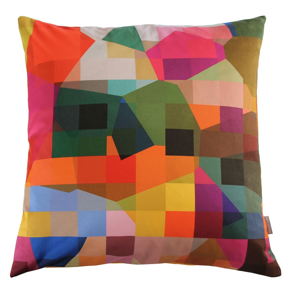 Digital Glitch cushion by Parris Wakefield Additions